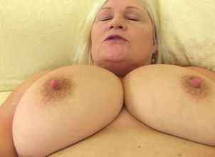 Huge chested grannie with..