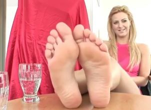 Footjob Audition - Super-sexy..