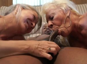 mature grandmothers share big..