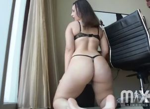 Latina  large backside